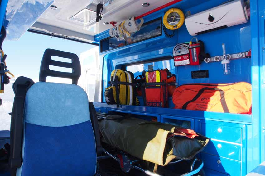 trauma clinic livigno ambulance first aid
