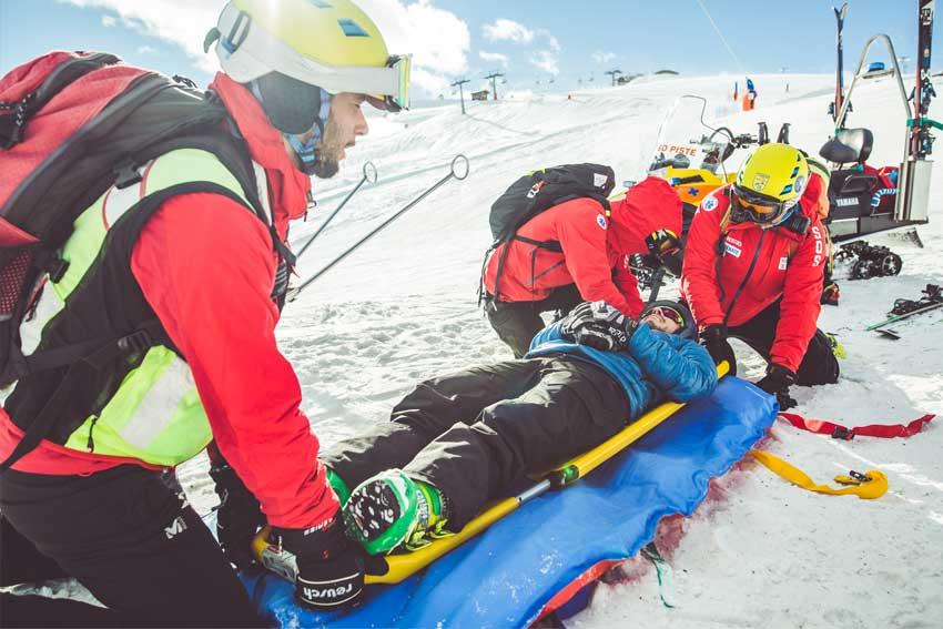 trauma clinic livigno soccorso piste sci